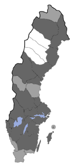 Distribution map - Setina irrorella