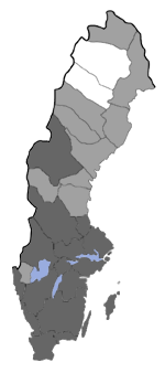 Distribution map - Taleporia tubulosa