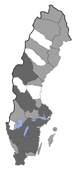 Distribution map - Tineola bisselliella