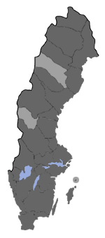 Distribution map - Udea lutealis