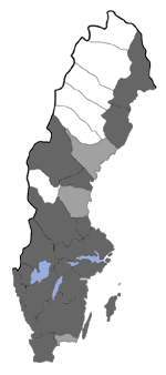 Distribution map - Ypsolopha asperella
