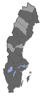 Distribution map - Ypsolopha parenthesella