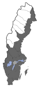 Distribution map - Ypsolopha scabrella